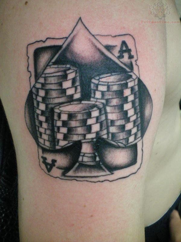 Casino chips tattoo sun cruz casino jacksonville