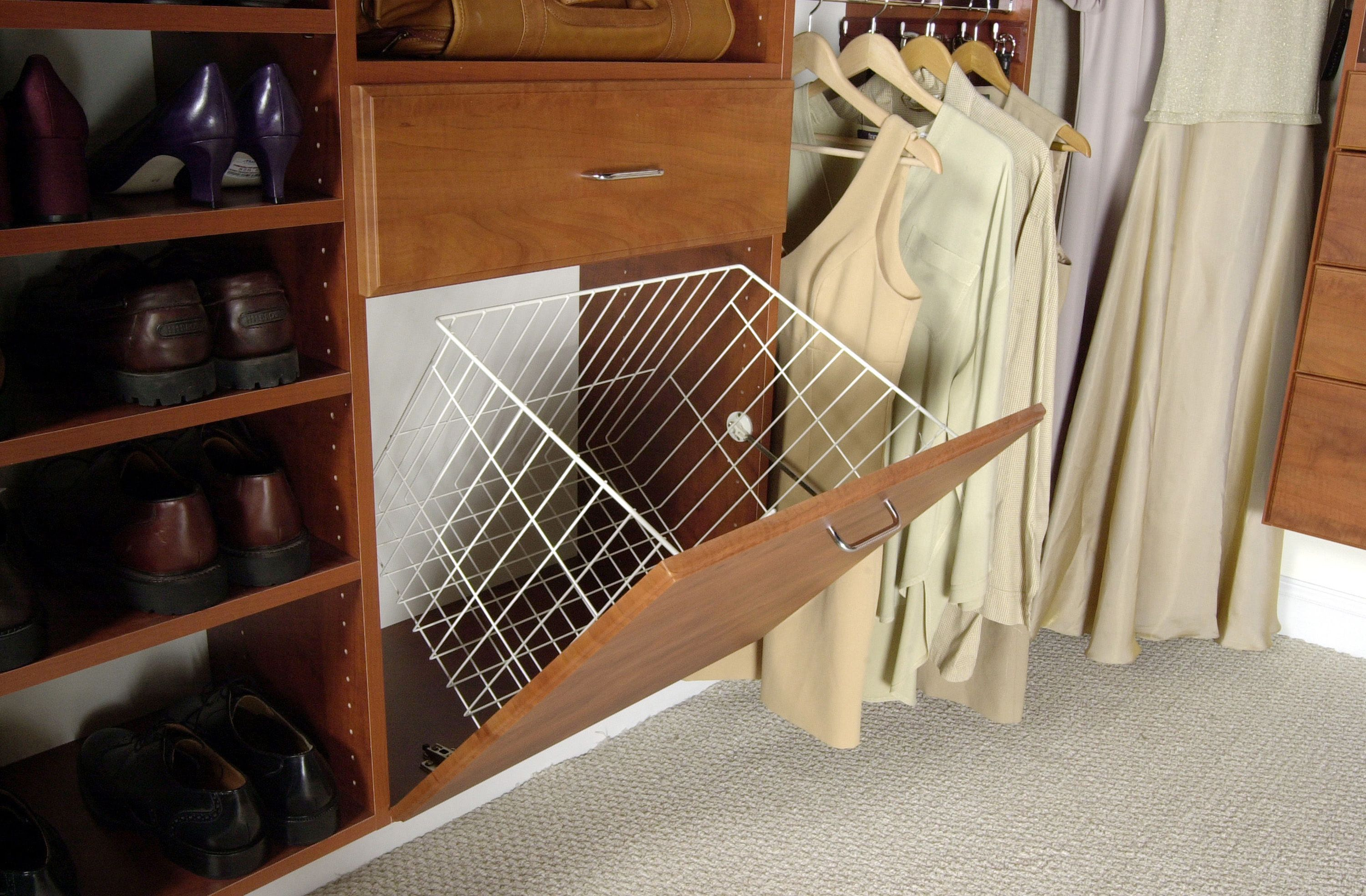 Exceptional Tilt Out Laundry Hamper   Hamper Basket Is Easily Removed.