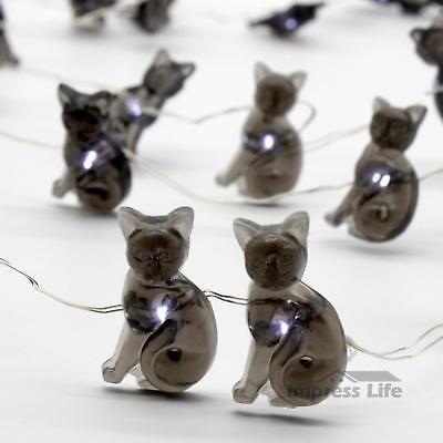Halloween Decoration Led String Lights Outdoor Decor Black Cats 40 - halloween decorations black cat
