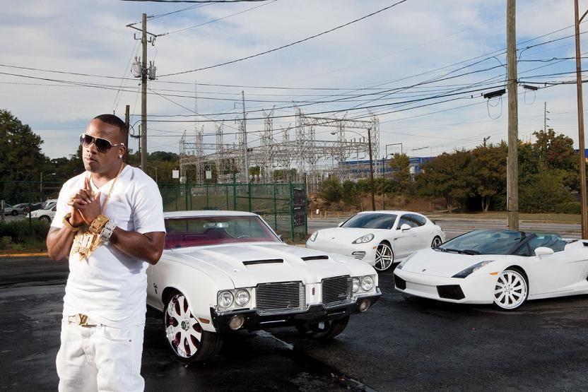 Rapper Yo Gotti All White Cars With Images White Car Yo Gotti