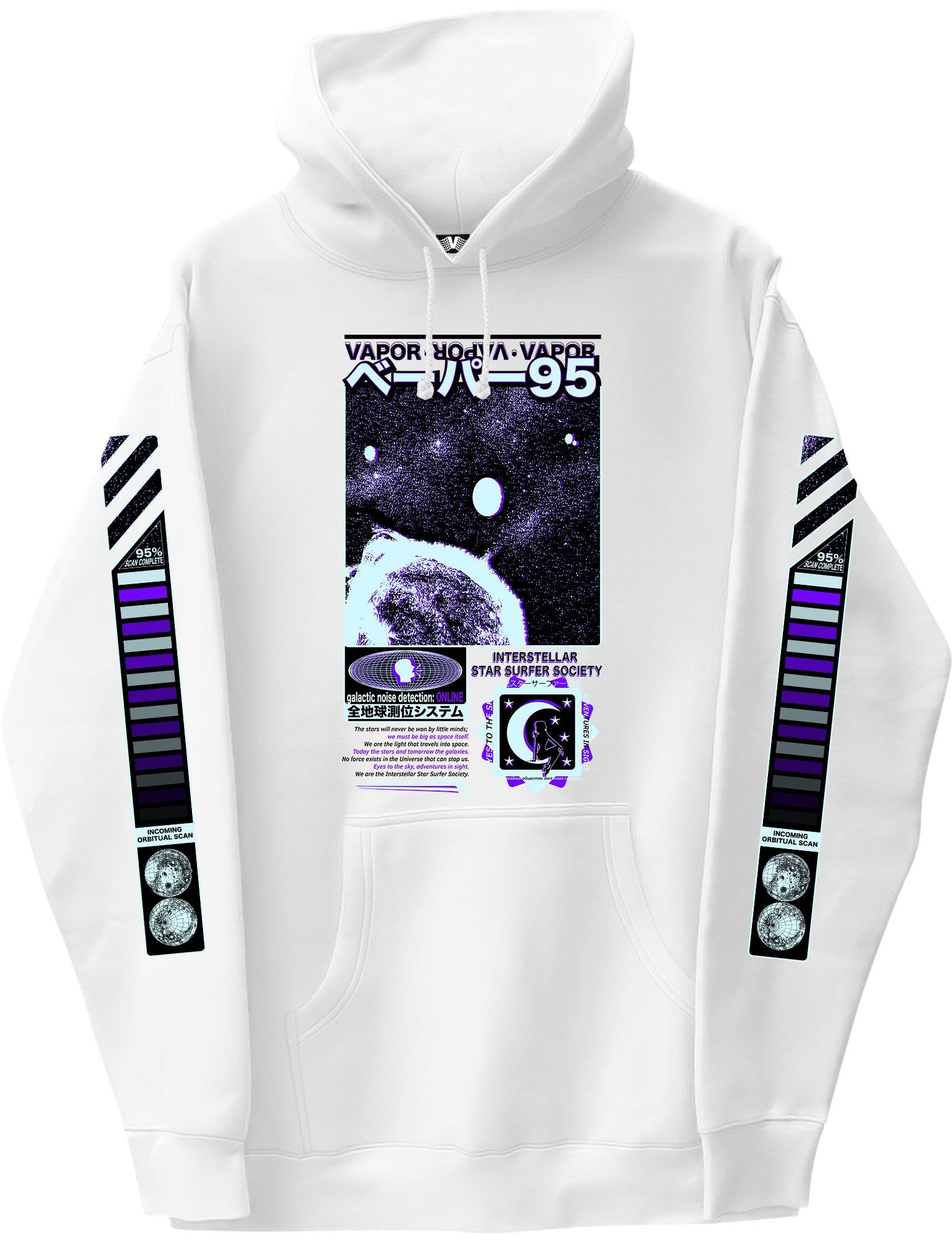 38e0a60a4 Star Surfer Long Sleeve Graphic Hoodie   Products