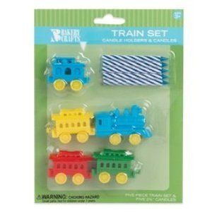Oasis Supply Train Candle Holder Birthday Candles - http://partythings.com/oasis-supply-train-candle-holder-birthday-candles.html