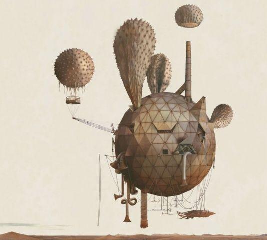 Mars: Adrift on the Hourglass Sea by Kahn & Selesnick