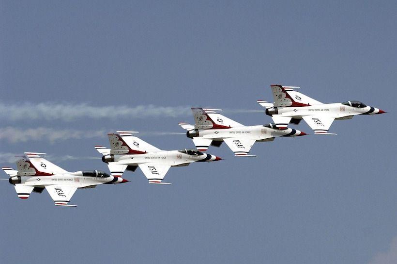 Thunderbirds To Headline Show At Maxwell Air Force Base Air