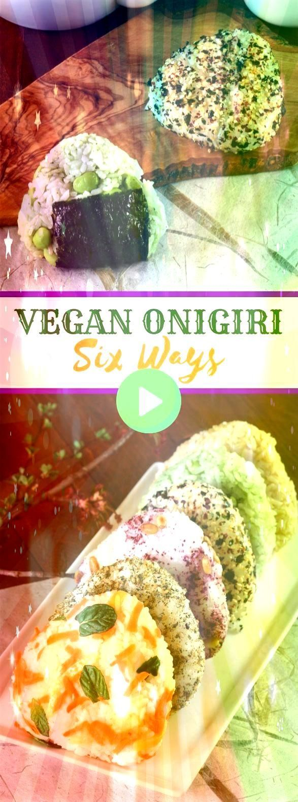 VEGAN ONIGIRI SIX WAYS VEGAN ONIGIRI SIX WAYS Spinach and Mushroom Crustless Quiche is a great low carb breakfast or brunch tread packed with vegetables and protein Thai...
