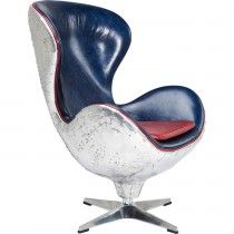 Fauteuil Soho Big Boss Blue - Kare Design