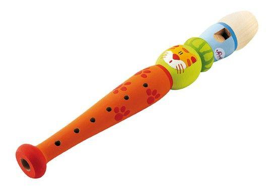 Flute lovely colourful flute for kids. | Wooden flute