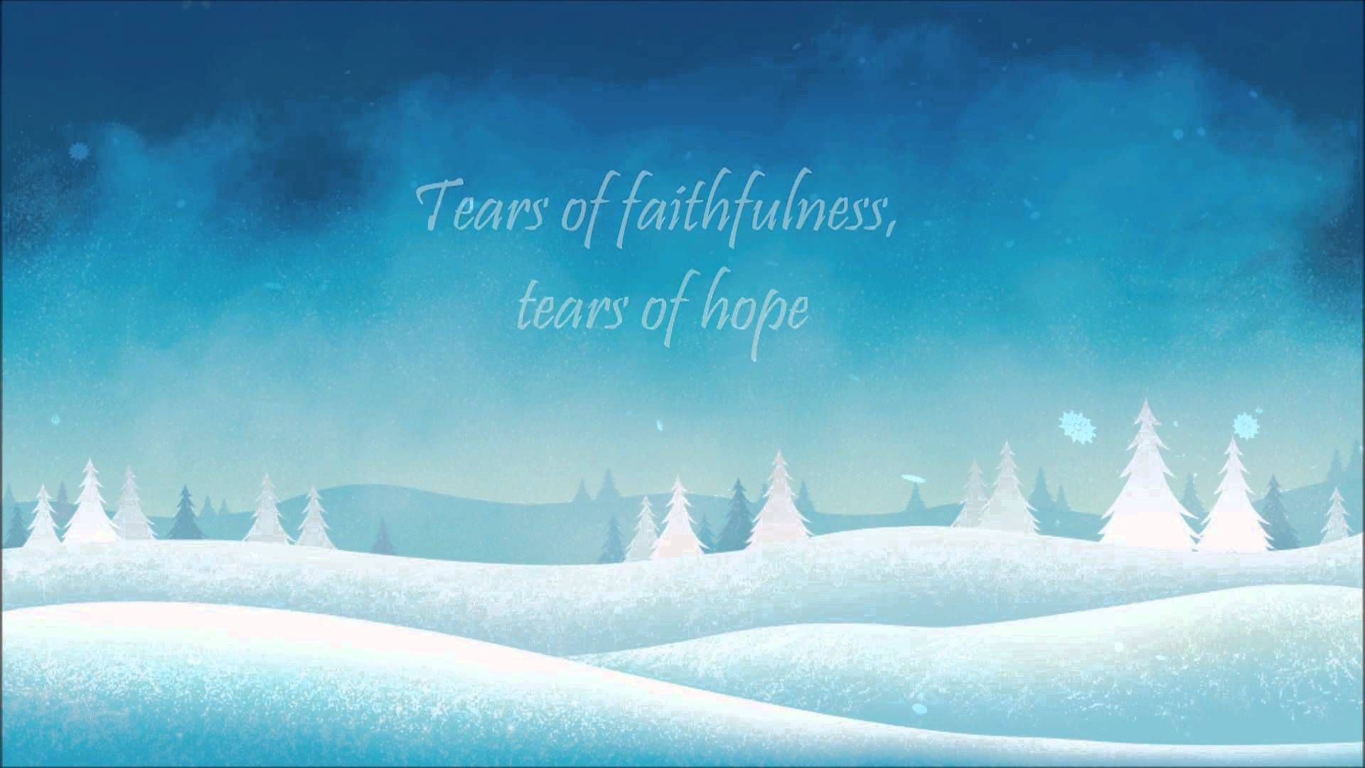 Christmas Makes Me Cry Lyrics Hd Mandisa And Matthew West