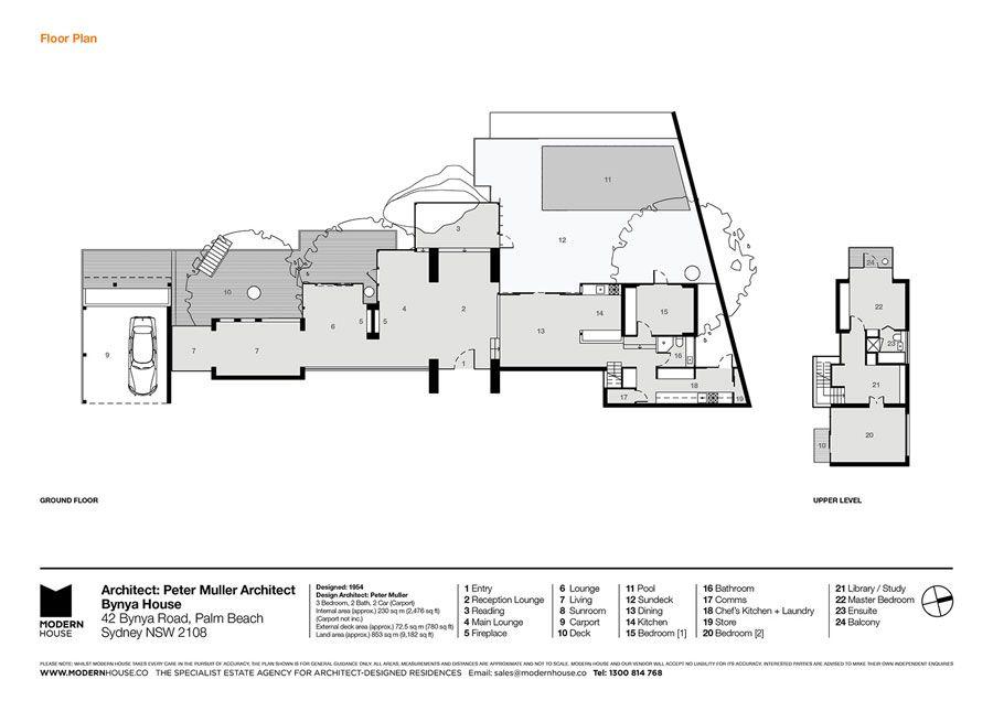 The Bynya House By Peter Muller Plastolux Palm Beach Palm Beach Nsw Beach Properties