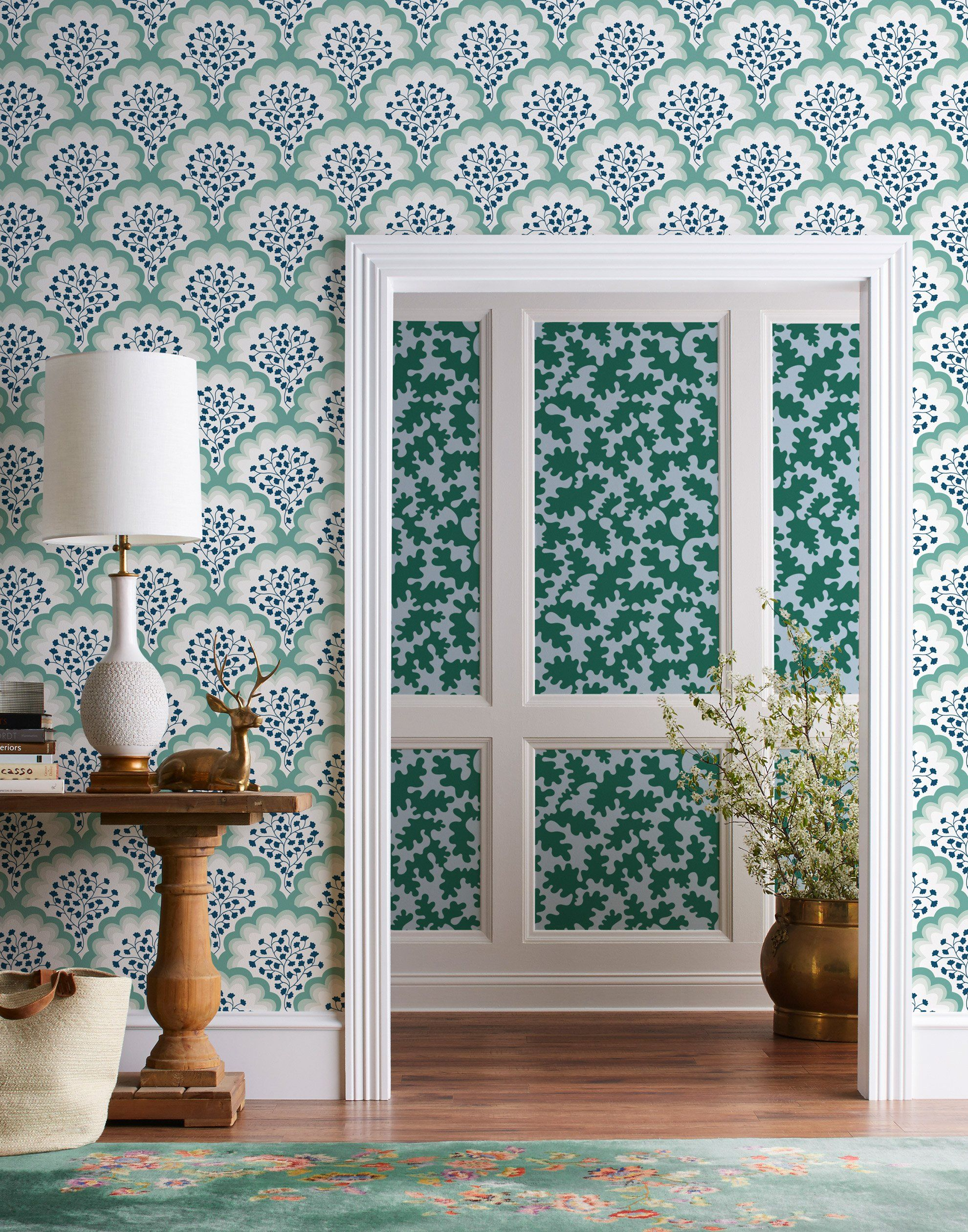Best Places To Buy Custom Wallpaper By Price Point Modern Wallpaper Blue And White Wallpaper Interior Design Courses Online