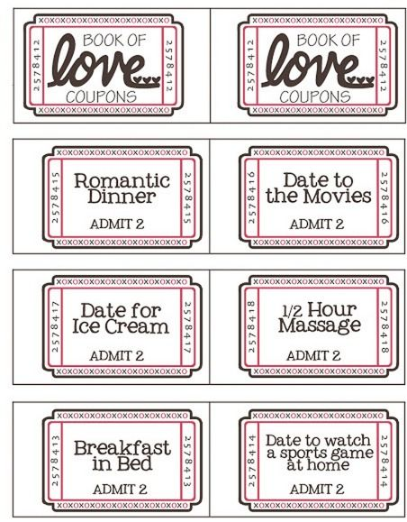 Free Valentines Day Coupon Booklet Tasks For Significant Other Valentines Coupon Book Valentines Printables Free Printable Valentines Day Cards