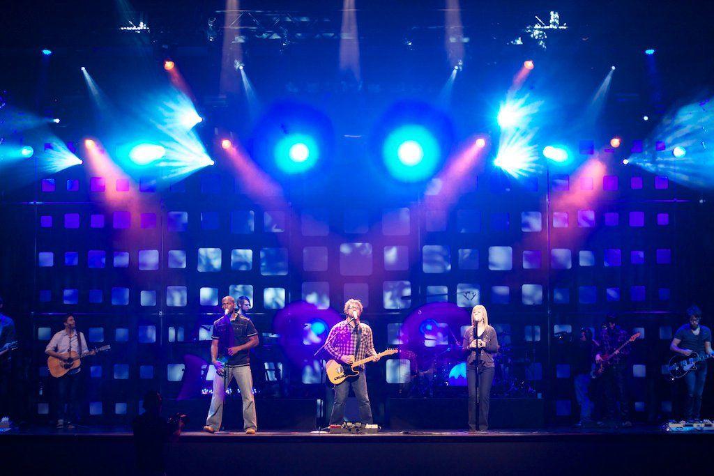 Buckhead Church Atlanta Ilration Of Creative Stage