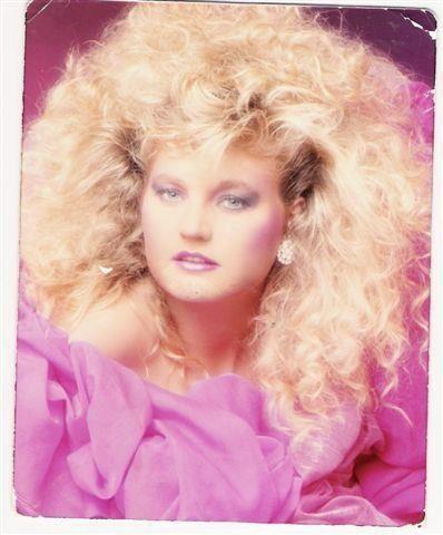 huge hair glamor shot. remember
