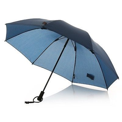 Euroschirm Light Trek Umbrella Unique Umbrellas 155190 Euroschirm Swing Liteflex Trekking Umbrella  Navy Decorating Design