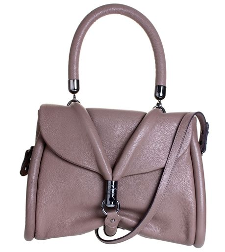 Christian Louboutin Miss Rope Taupe Leather Bag