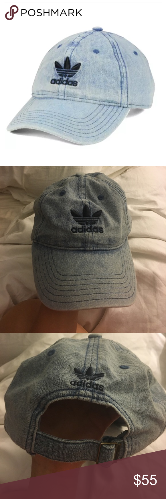 b33013ff03c NEW ADIDAS Originals Relaxed Denim Men Unisex hat Brand new and never worn. Rare  hat