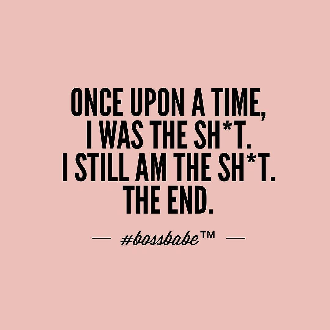 The #bossbabe Bedtime Story. The End. Pretty Simple. Take