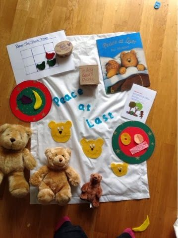 Oneblueonepink Make Your Own Story Sack Children S