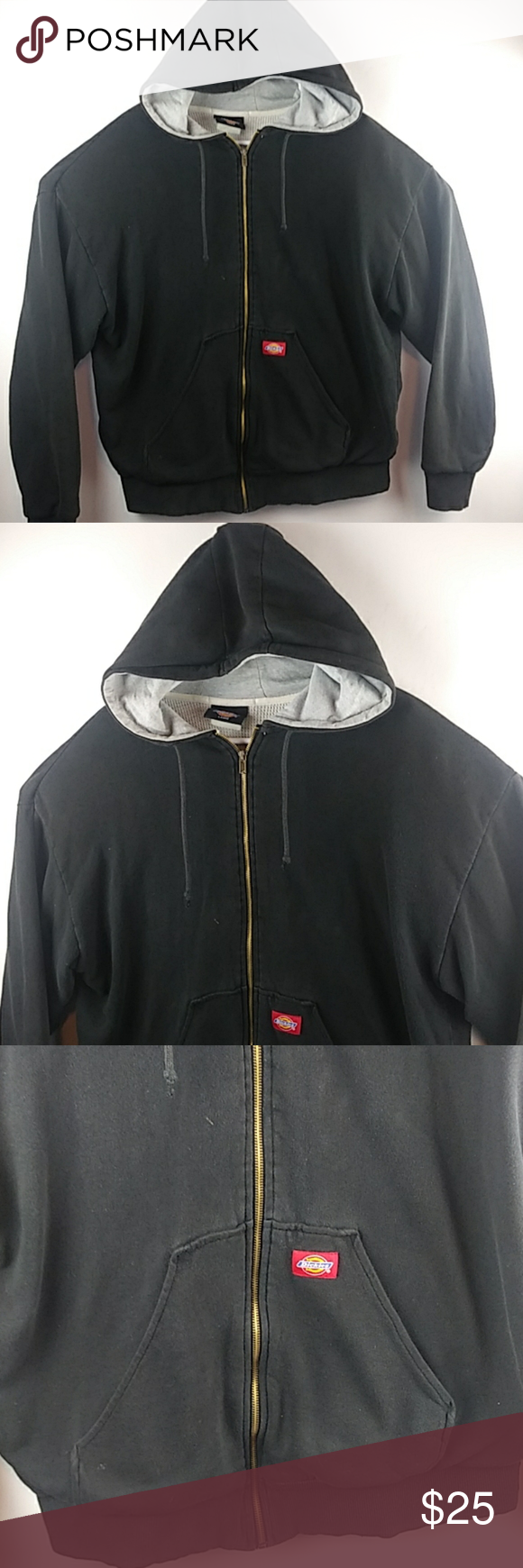 Dickies Thermal Lined Zip Up Hoodie Sweatshirt Good Used Condition Dickies Thermal Lined Zip Up Hoodie Sweatshirt Me Sweatshirts Hoodie Clothes Design Zip Ups [ 1740 x 580 Pixel ]