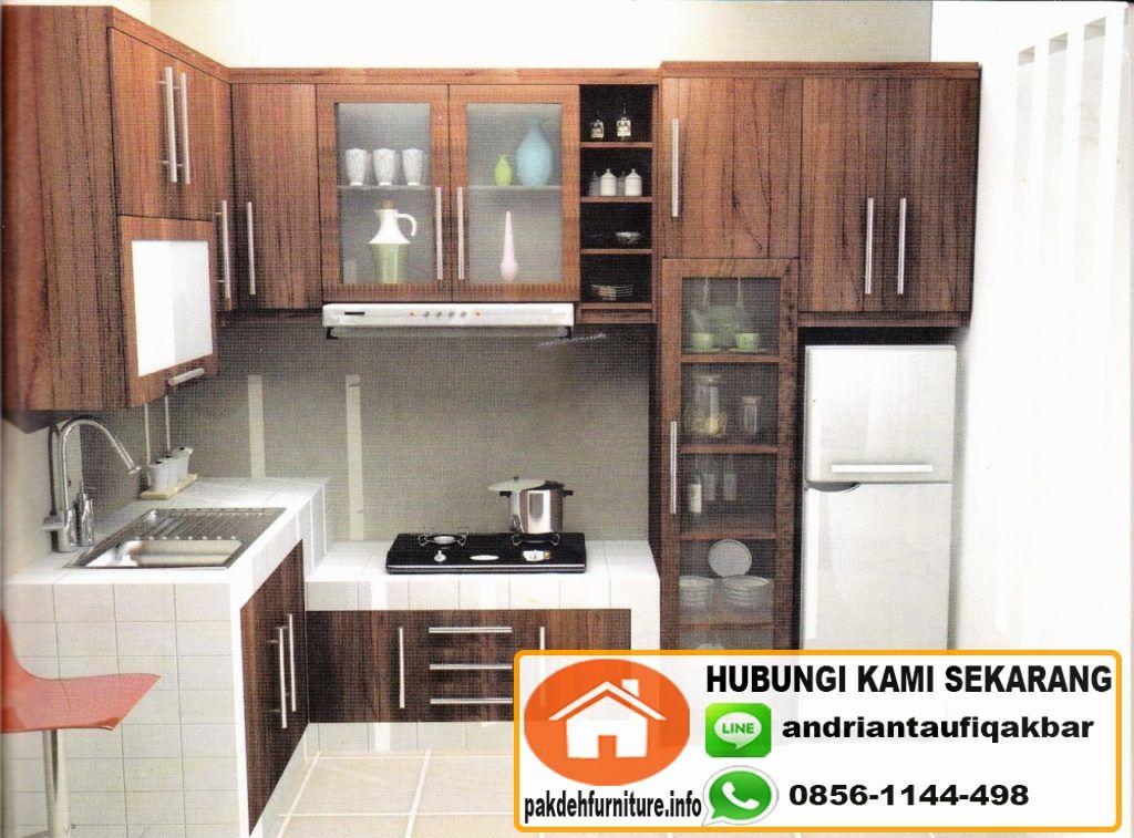 Buat Furniture Kitchen Set Minimalis Murah Di Tangerang Jasa