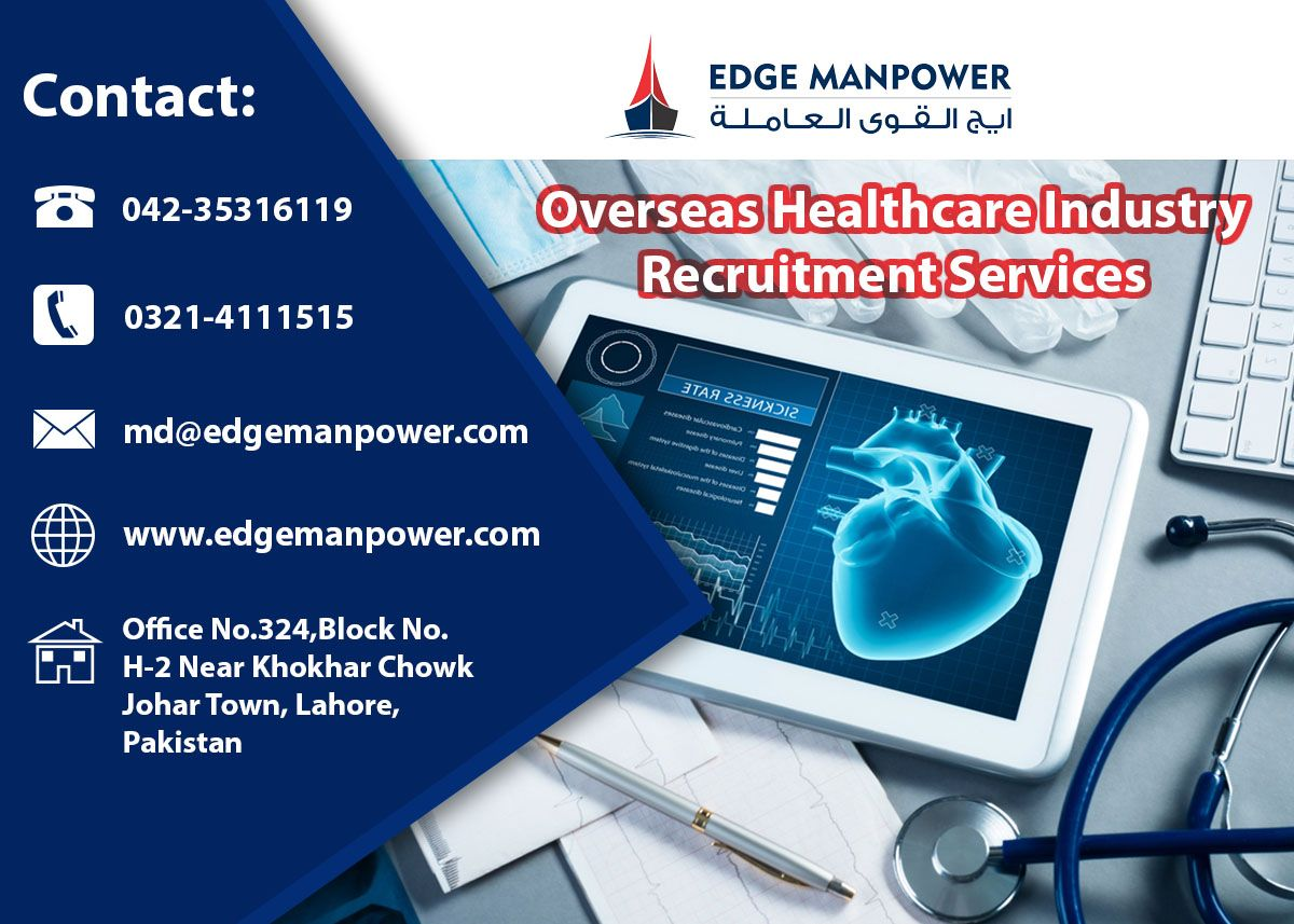 Overseas HealthCare Industry Recruitment Services in 2020