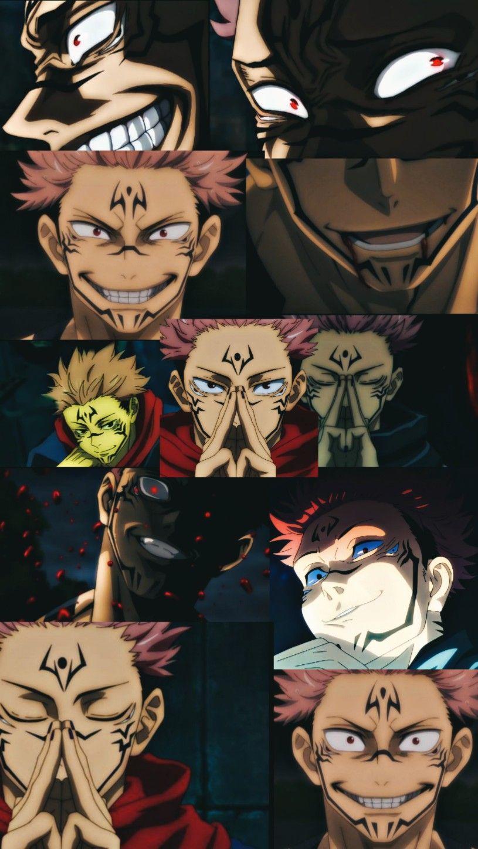 Sukuna Jujutsu Anime Wallpaper Anime
