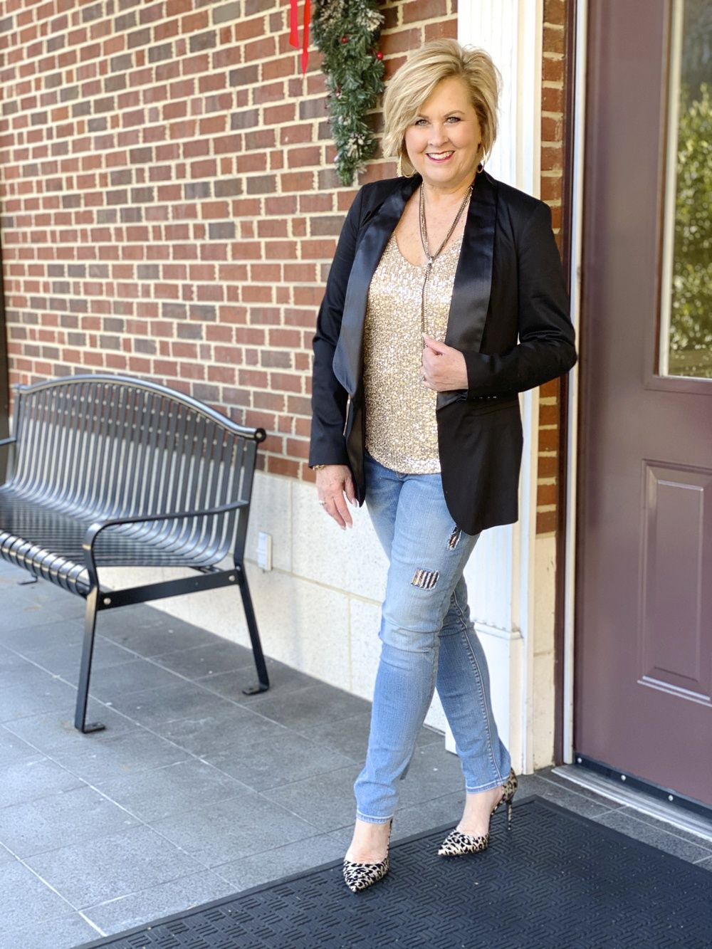 New Year S Eve Outfit Inspiration By Three Bloggers 50 Is Not Old In 2020 New Years Eve Outfits New Years Eve Outfit Casual Eve Outfit