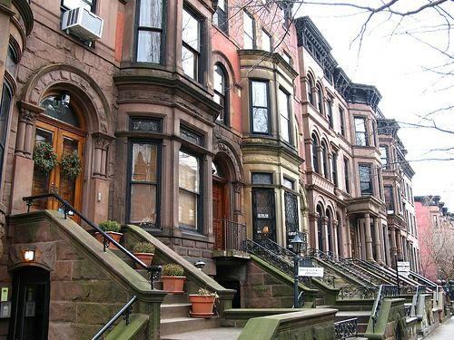 Bedford Stuyvesant Historic Neighborhood In Brooklyn New York