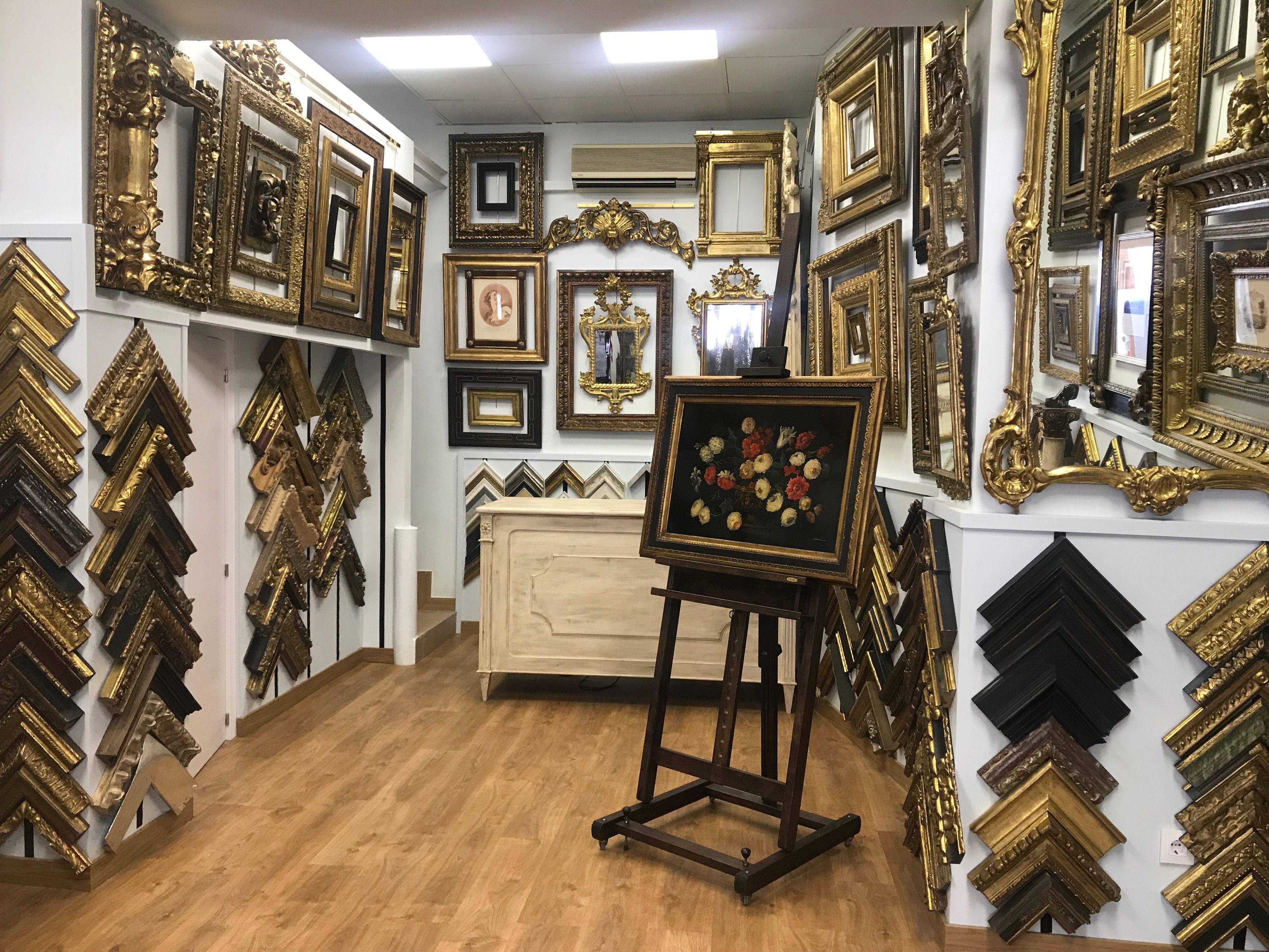 nuestra tienda, calle goya 50 - Marcos antiguos, Tiendas, Marcos