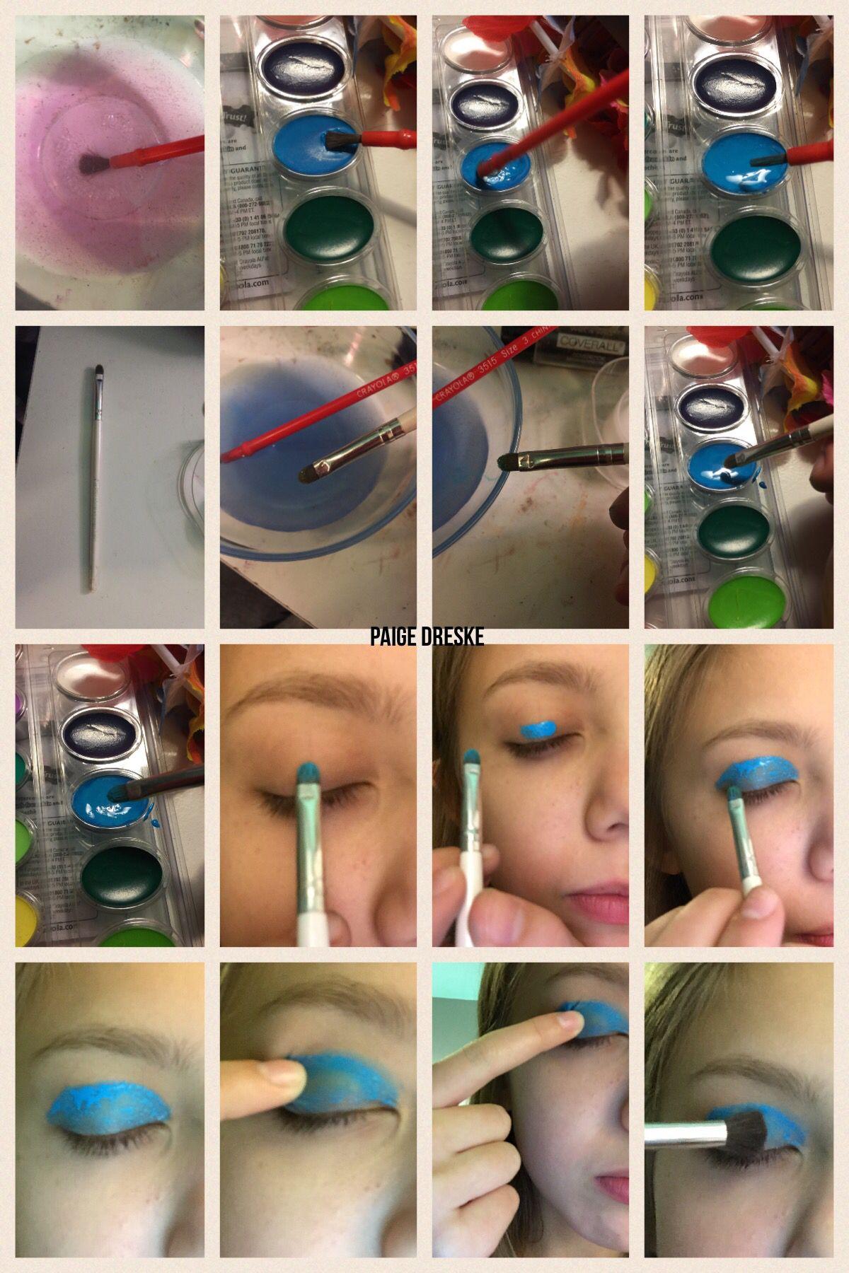 6 Ea Crayola Washable Watercolor Paint Set Watercolor Pans