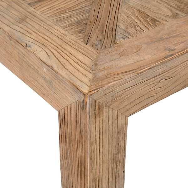 Table Basse En Orme Massif Recycle Effet Vieilli L 100 Cm Bruges Elm Coffee Table Coffee Table Table