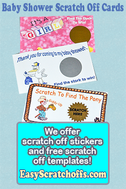 Pin On Print Your Own Scratch Off Cards And Party Favors