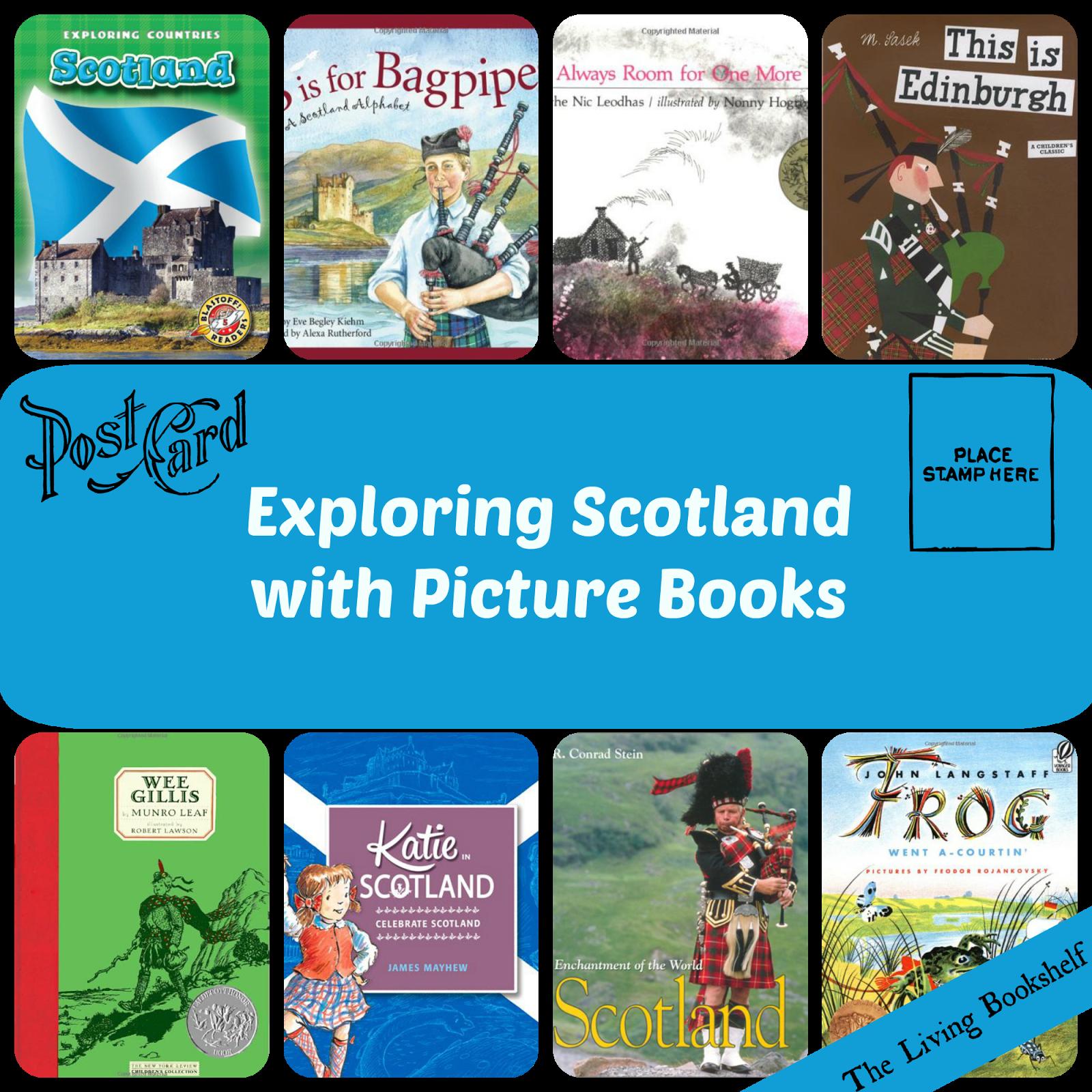 The Living Bookshelf Scotland Unit Study Virtual Field