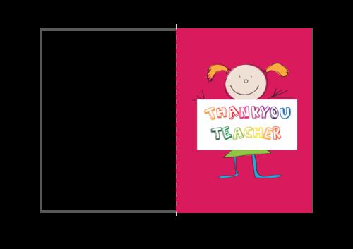 Teacher Thank You Card 2 Pinterest Teacher Express Gratitude