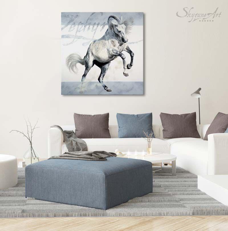 Galerie Artiste Animalier Skyzune Art Peinture Et Pastel Caballos Arte Interiores
