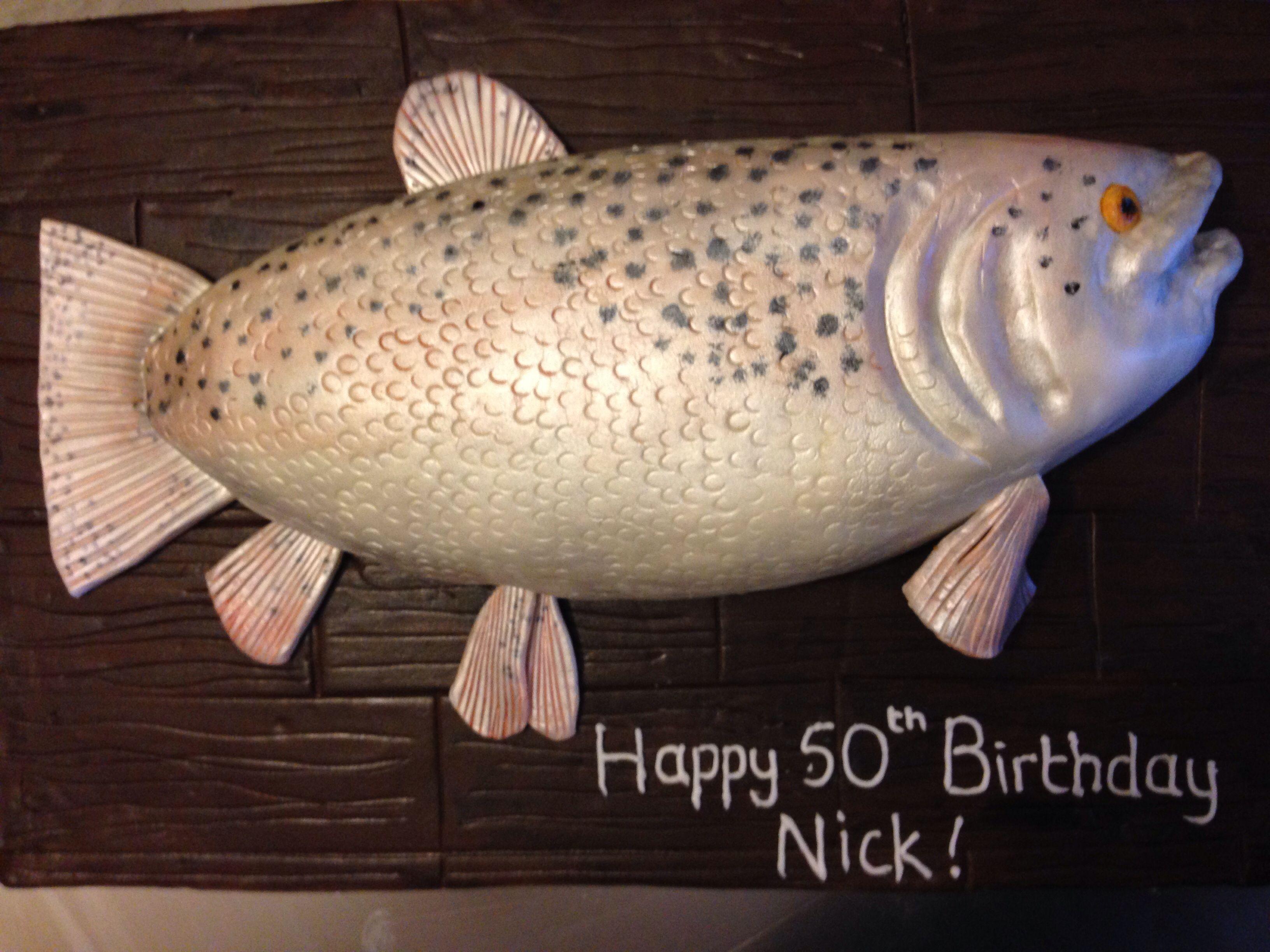 Pleasing Salmon Birthday Cake Cupcake Cakes Wedding Cakes Cake Birthday Cards Printable Opercafe Filternl