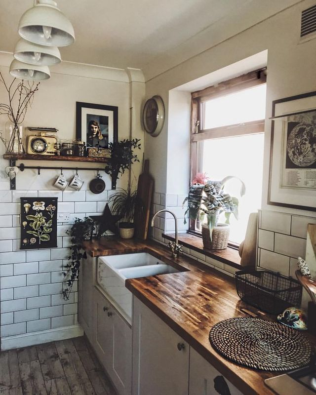 Pin By Adeline Ding On Home Life Rustic Kitchen Rustic