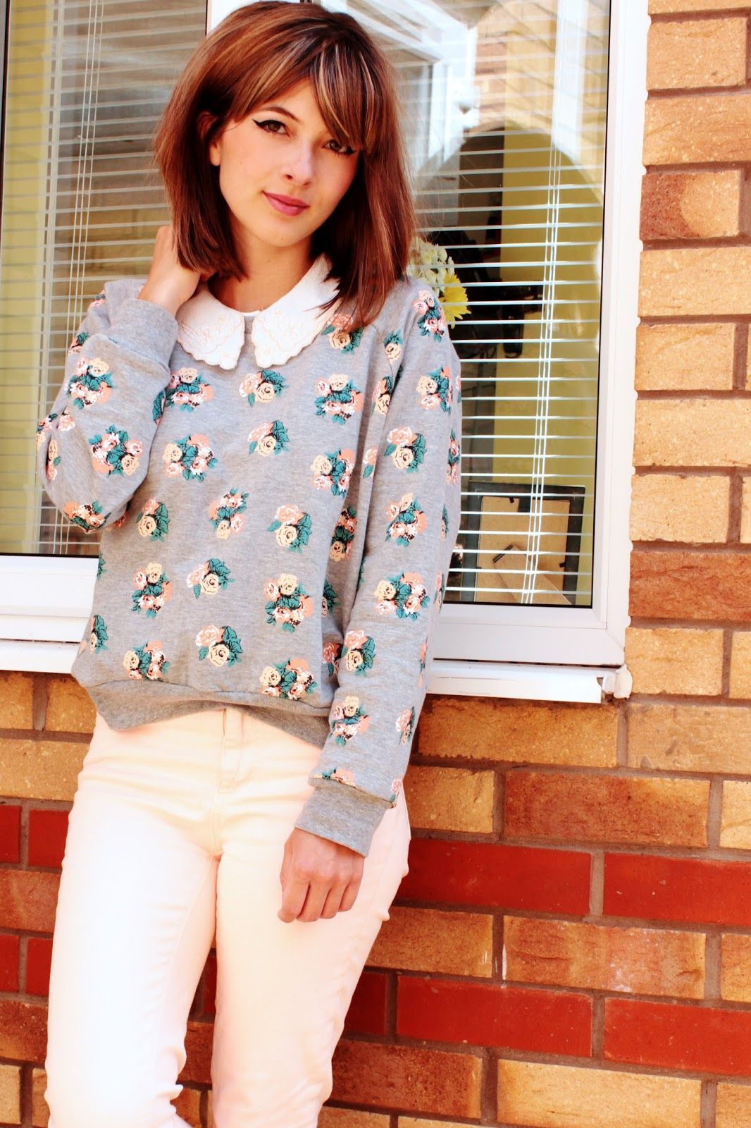 Outfit OuClock Floral Fancy So On Trend UK Style