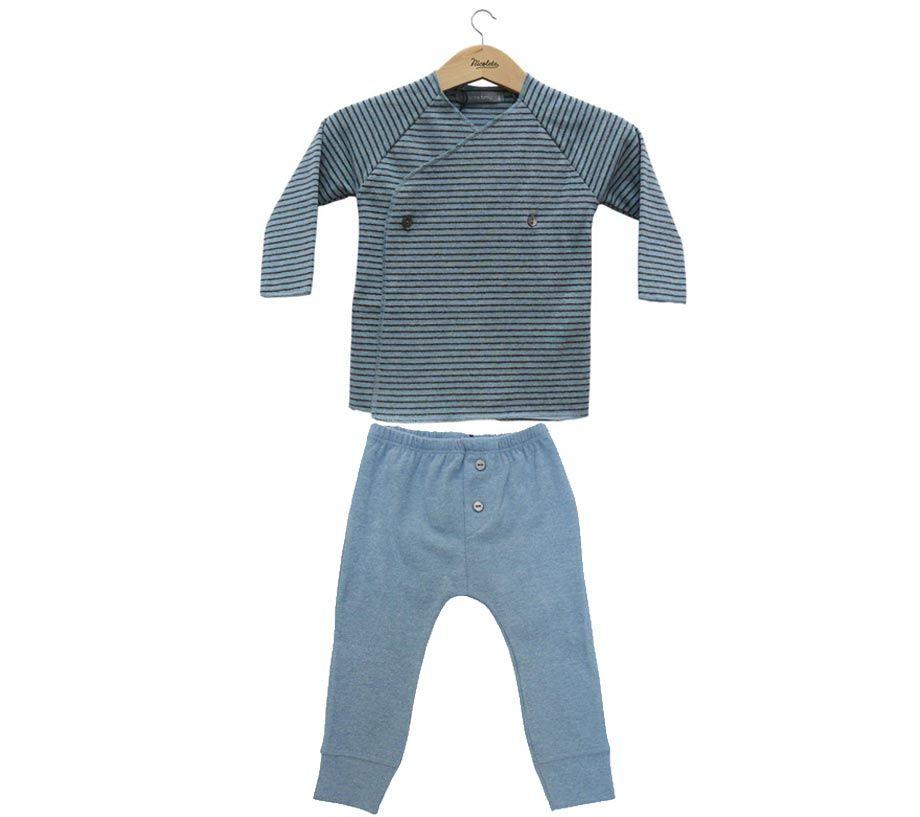 Conjunto bebé azul de 1+ in the family www.nicolete.es
