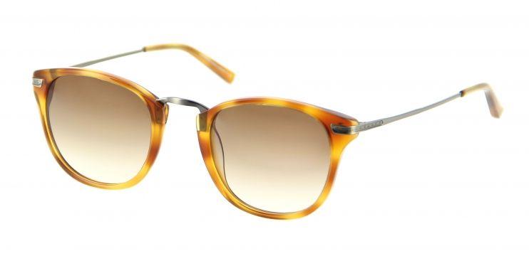 c28eb5504ec149 Lukkas - lunettes de soleil Homme lu s1404 blon Lunettes mêlant le  plastique écaille clair et le métal argenté fin pour vous accompagner au  quotidien.