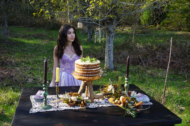 Wedding dress woodland fairy tale whimsical ethereal boho