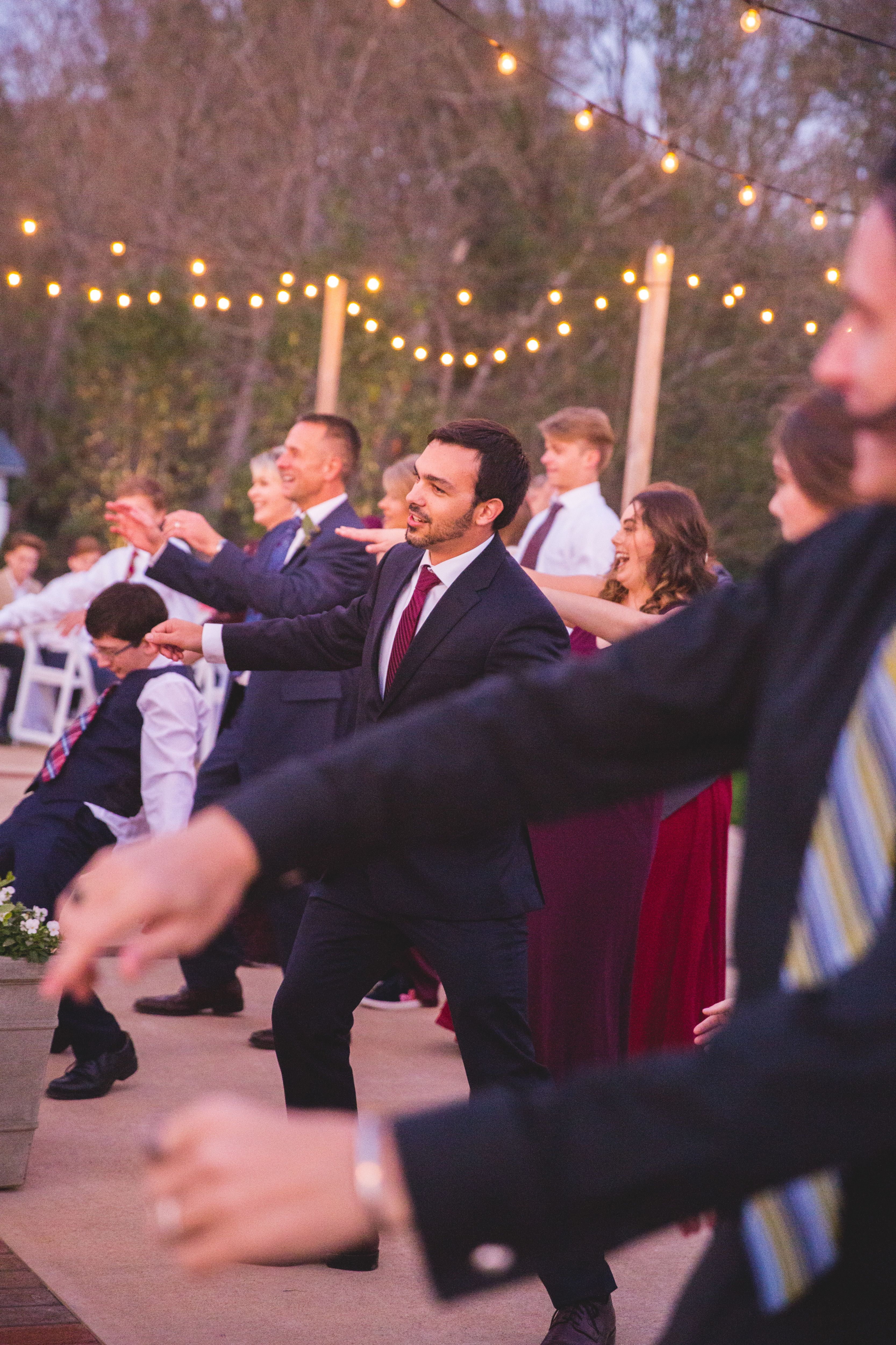The Bridal Party Did A Flash Mob During The Reception To Thriller