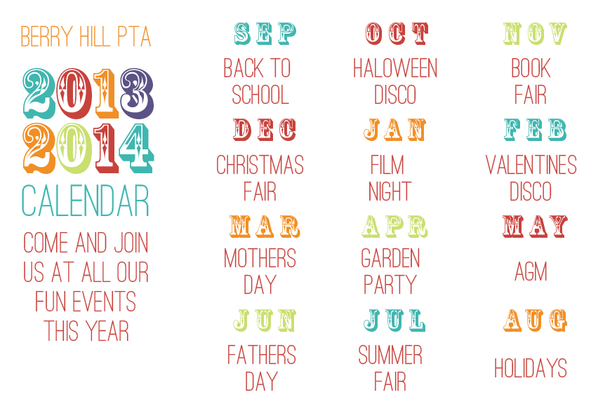 What if we did something like this and made it a magnet pta calendar published pta templates and kits published pta templates and poster kits pronofoot35fo Images