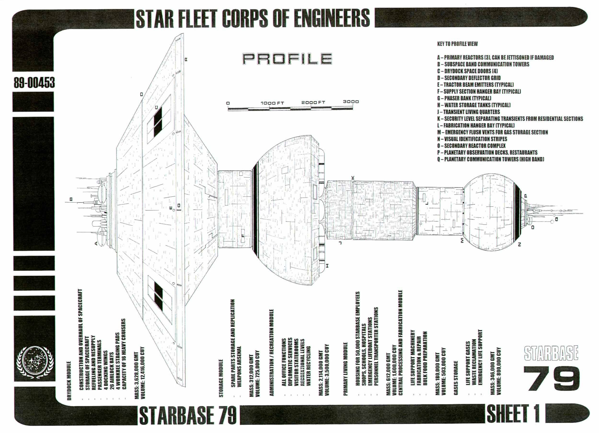 Star Trek LCARS Blueprint Database - Star Trek Blueprints Main Page ...