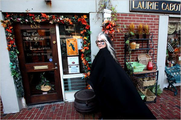 The Bookshop Blog Salem Mass Real Witches Witch Shop