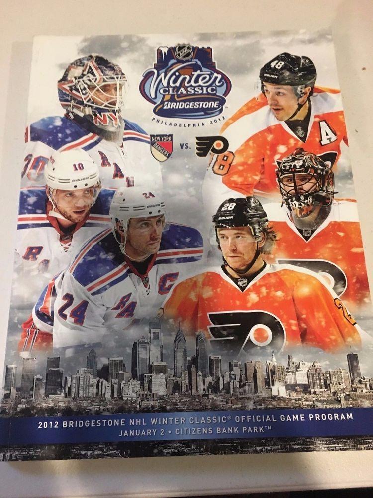 992fc013b 2012 NHL Winter Classic New York Rangers vs. Philadelphia Flyers ...
