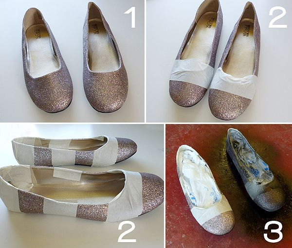 Shoesday Tuesday - Jailhouse Striped Glitters! - Dream a Little Bigger