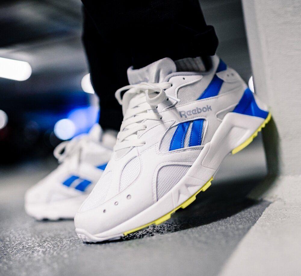 Reebok Aztrek OG White Blue: Sale Price