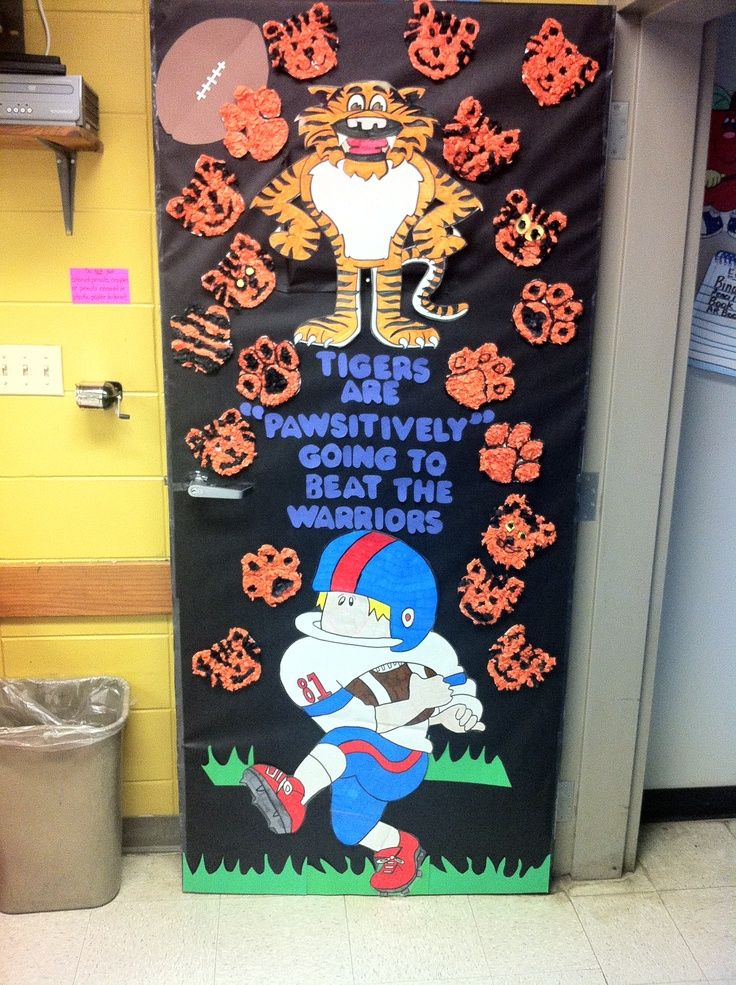 classroom door decorations for homecoming google search