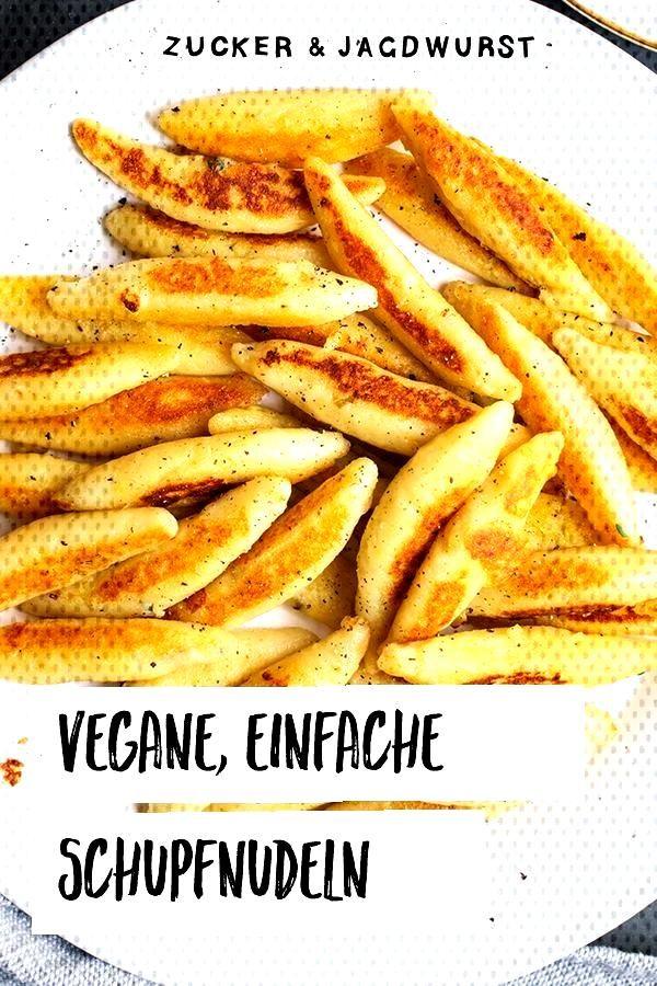Vegan Schupfnudel-Mushroom Pan - Sugar amp Jagdwurst - Vegan Schupfnudeln it Yourself -